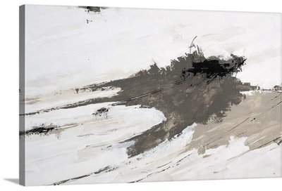 Wayfair 'Intrinsically Gray' Hilfiger Painting Print