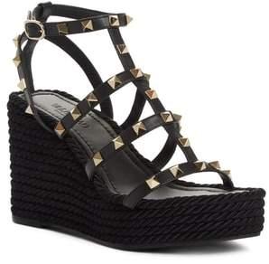 Valentino GARAVANI Torchon Wedge Platform Sandal