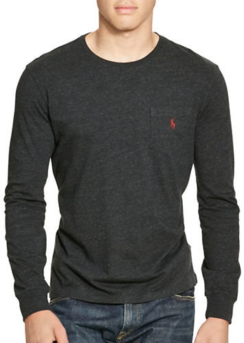 Polo Ralph Lauren Long Sleeve Pocket T-Shirt
