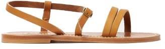 K. Jacques Erka Leather Sandals - Womens - Tan