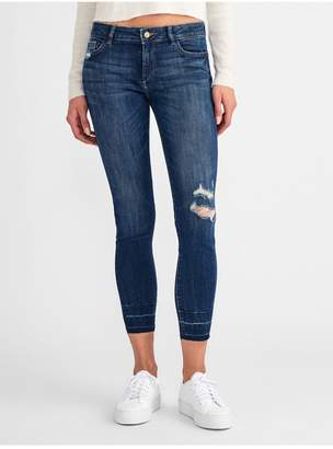 DL1961 Margaux Mid Rise Ankle Skinny | Shasta