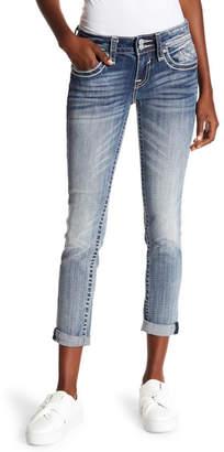 Vigoss Medium Wash Embellished Jeans