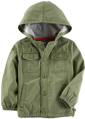 Osh Kosh Oshkosh Boys Olive Jacket-Toddler