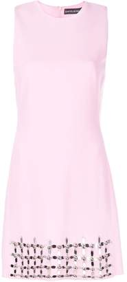 David Koma gem embellished dress