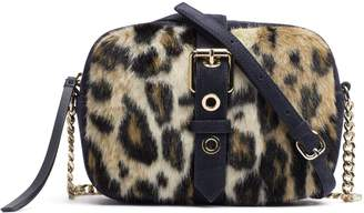 Tommy Hilfiger Leopard Print Crossbody Bag