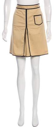 Tory Burch Pleated Mini Skirt