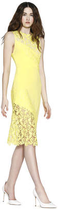 Alice + Olivia Margy Fitted Dress