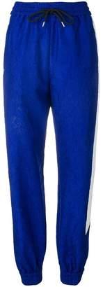 MSGM side stripe track pants
