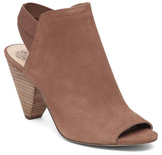 Vince Camuto Sling Back Cone Heel Booties $119 thestylecure.com