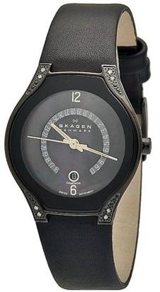 Skagen Black Label Swiss Ladies Watch 886SBLB