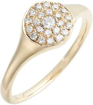 Loren STEWART Diamond Signet Ring