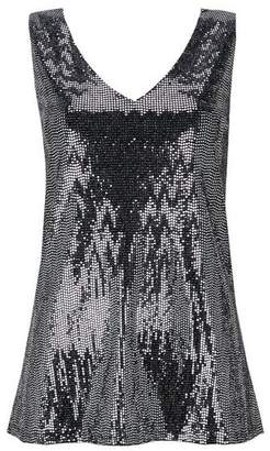 Wallis Silver Sequin Camisole Top