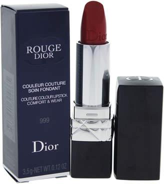 Christian Dior 0.12Oz 999 Rouge Couture Colour Comfort & Wear Lipstick