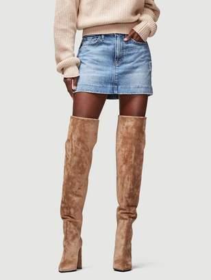 Frame Le Mini Skirt Blind Stitch Hem