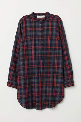 H&M Plaid Tunic - Red