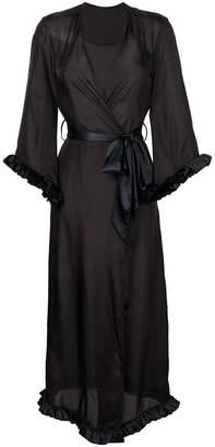 Loveday London long V-neck night gown