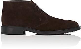 Tod's Men's Suede Chukka Boots - Dk. brown