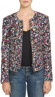 Women's 1.state Cotton Tweed Jacket $149 thestylecure.com