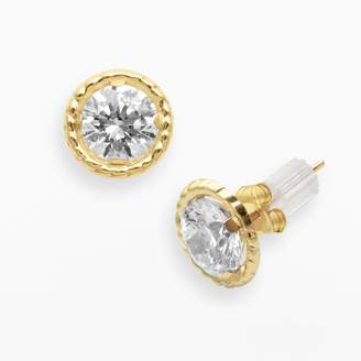 Renaissance Collection 10k Gold 1 4/5-ct. T.W. Cubic Zirconia Stud Earrings