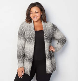 Avenue Ombre Stripe Cardigan