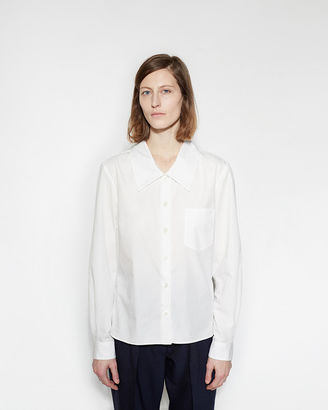 Margaret Howell Low Collar Shirt $535 thestylecure.com