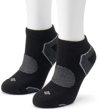 Columbia Women's 2-Pack Balance Point Low-Cut Walking Socks