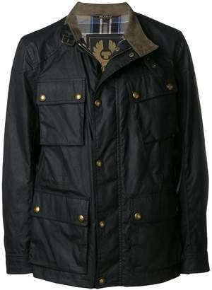 Belstaff zipped fitted jacket