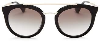 Prada Round Sunglasses, 50mm