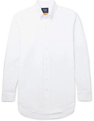 Drakes Drake's Easyday Slim-Fit Button-Down Collar Cotton Oxford Shirt