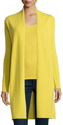 Neiman Marcus Cashmere Collection Long Cashmere Duster Cardigan $325 thestylecure.com