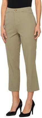 Liz Claiborne New York Hepburn Cropped Stretch Woven Pants