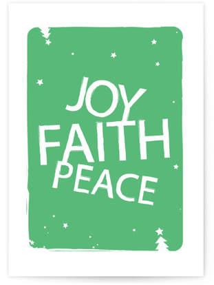 Joy, Faith & Peace Self-Launch Cards