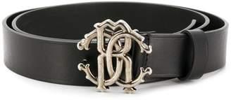Roberto Cavalli logo buckle belt