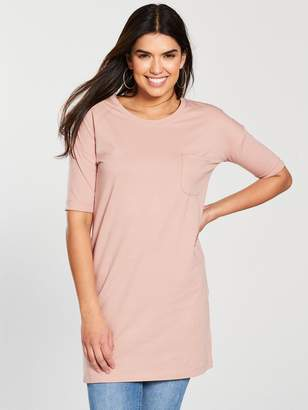 Very Pocket 3/4 Sleeve Tunic