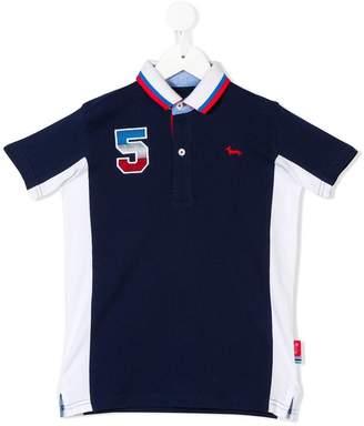 Harmont & Blaine Junior colour block polo shirt