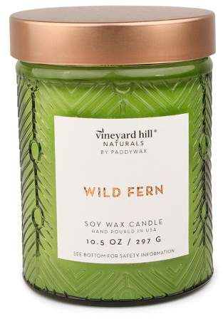 Vineyard Hill Naturals Container Candle Wild Fern 10.5oz - Vineyard Hill Naturals by Paddywax