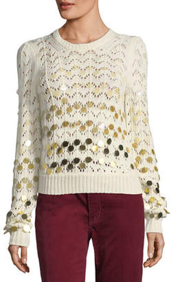 Marc Jacobs Degrade Paillette Sweater