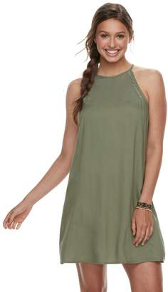 Mudd Juniors' Halter Swing Dress