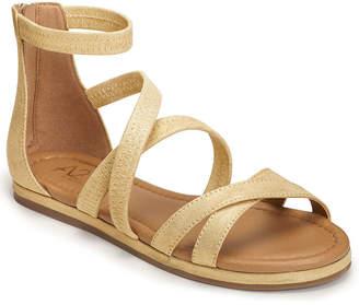 5525c35c4c09 Aerosoles A2 BY A2 by Womens Pin Drop Criss Cross Strap Flat Sandals