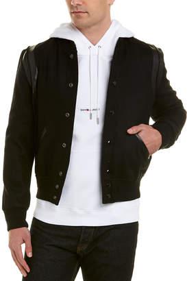Saint Laurent Teddy Wool-Blend Jacket