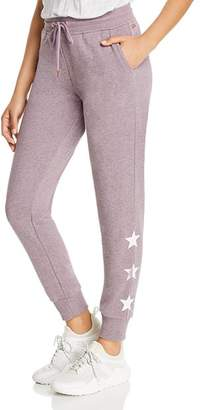 Andrew Marc Star-Print Jogger Pants