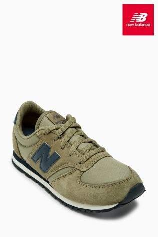 Boys New Balance 420 - Green