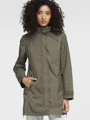 DKNY Packable Rain Coat