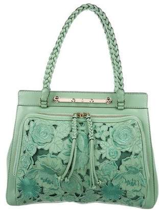 Valentino Lace-Accented Demetra Bag