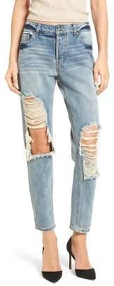 AFRM Cyrus High Waist Ankle Jeans