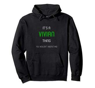 Vivian - Personalized Name Unisex Pullover Hoodie