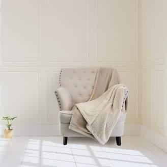 Royal Comfort Faux Mink Blanket, Stripe