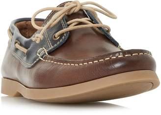 BERTIE MENS BATTLESHIP - Classic Leather Boat Shoe