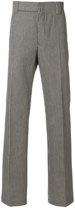 Lanvin striped straight-leg trousers