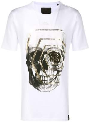 Philipp Plein graphic skull print T-shirt